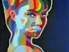Regenboog-portret